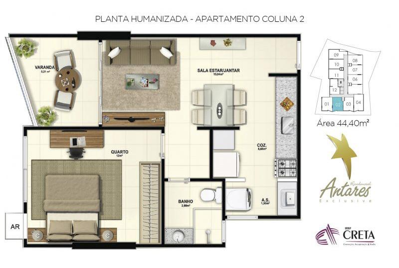 Residencial Antares Exclusive – Group Creta Imóveis – Cachoeiro de Itapemirim (8)